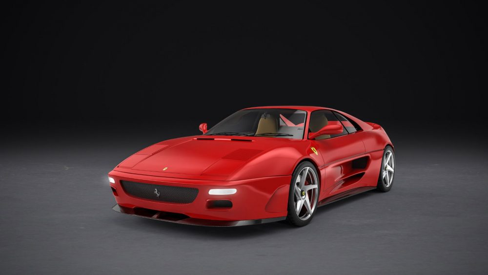 These Renders Of A Modified 348 Are One Company S Idea Of What The Peak Analog Ferrari V8 Will Look Like Petrolicious