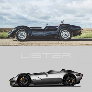 "Lister Teases Images Of A Modern-Day ""Knobbly"" Concept"