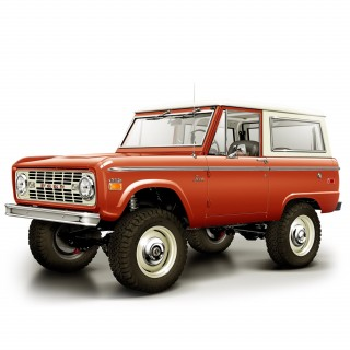 Icon 4x4 Is To Auction A Resto-Mod Bronco To Raise Money For Students