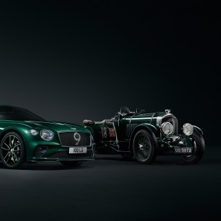 Special Edition Bentley Continental GT Honors Le Mans Hero Birkin
