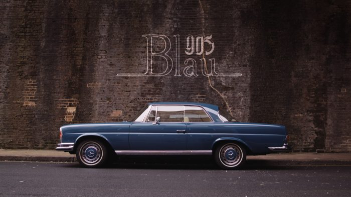 1968 Mercedes-Benz 280SE: The Blau Coupe