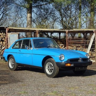 This 106-Mile MGB GT Has Spent Its Life In A Woodshed