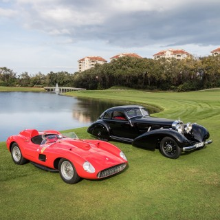 And The 2019 Amelia Island Concours Winners Are... A Ferrari And A Mercedes