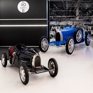 Bugatti's Fully-Electric Baby Reinvented For Automaker's 110th Anniversary