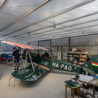 I Watched This Historic Polikarpov Biplane's Restoration For Years Before Going For A Ride In It Above Budapest