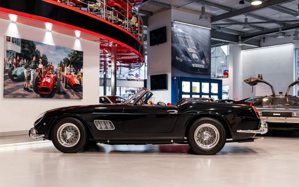 James Coburn S Ferrari 250 Gt California Spyder Swb Is Up For Sale Again Petrolicious
