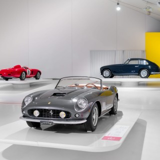 There's A New Exhibition Opened At The Enzo Ferrari Museum—And It's Stunning
