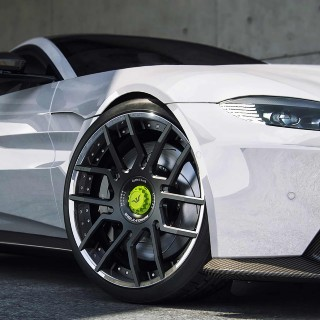New Aston Martin Vantage V8 Gets The Power To Match Its Looks From German Tuner Wheelsandmore