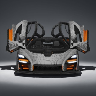 McLaren Has Created The Best Full-Size LEGO Car We've Seen So Far