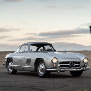 Maroon 5 Singer Adam Levine Is Selling His Mercedes 300 SL Gullwing