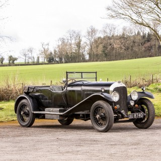 This 1929 Bentley 4½ Has Been With The Same Family For The Last 80 Years