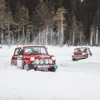 Spending A Weekend With Four Vintage Minis, A Few Flying Finns, And An Icy Lake In Sweden