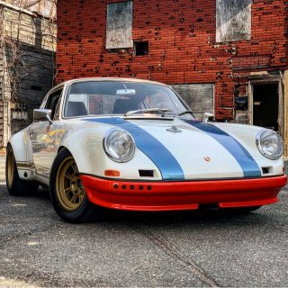 You Can Buy Magnus Walker's Old 'STR II' Outlaw Porsche 911