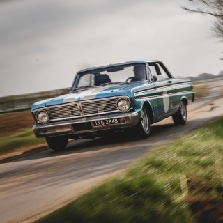 Driving A 400-Horsepower Ford Falcon Down British B-Roads Is An Afternoon Well Spent