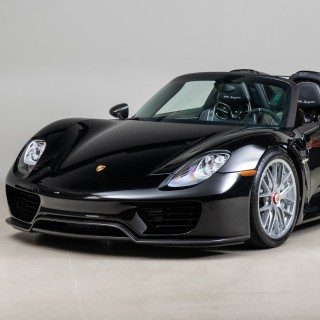Here Is Your Chance To Own A Practically Brand-New Porsche 918 Spyder