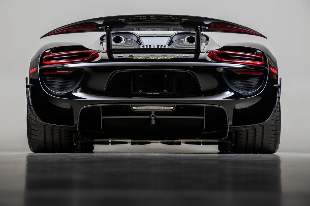 Here Is Your Chance To Own A Practically Brand New Porsche 918