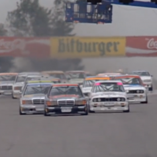 Revisit The Height Of DTM Touring Car Racing With This Period-Correct Footage At The Nürburgring