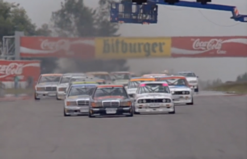 Revisit The Height Of DTM Touring Car Racing With This