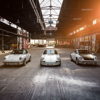GALLERY: Good Friends, A Bit Of Pretty Graffiti, And A Trio Of G-Series Porsche 911s