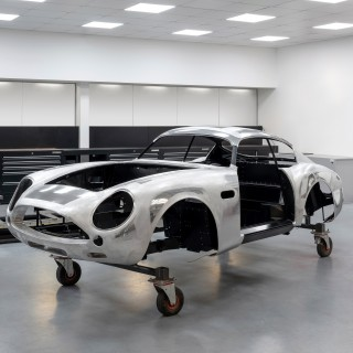 Aston Martin Works Has Now Started Building Its First DB4 GT Zagato Continuation Cars