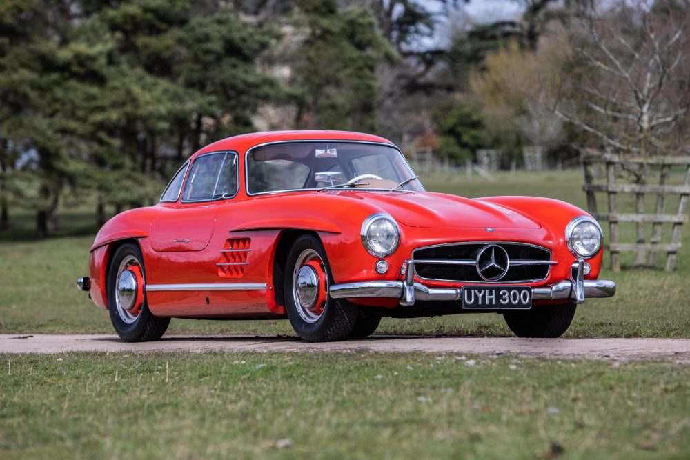 This Mercedes 300sl Was Once Owned By Lotus F1 S Peter Warr