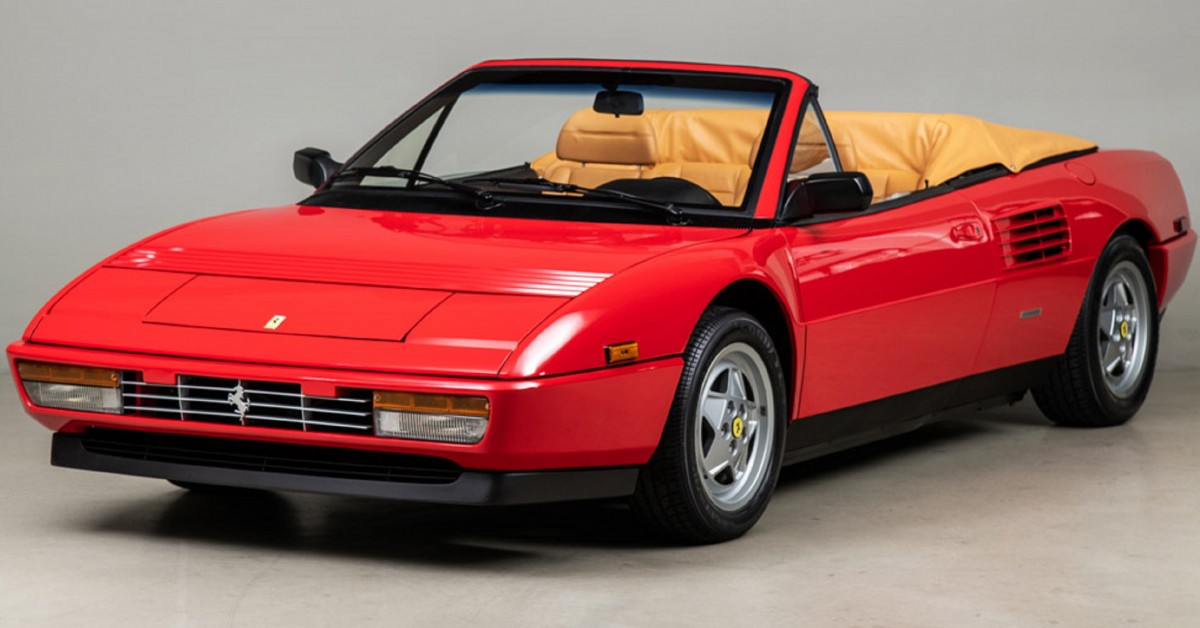 This 584 Mile Mondial T Cabriolet May Just Be The Perfect Family Friendly Ferrari Artikel Ausgewählt Von Artebellum