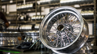 Ruote Borrani: Wire Wheels
