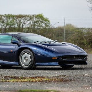 Here's Your Chance To Own Not One But Two Jaguar XJ220 Supercars