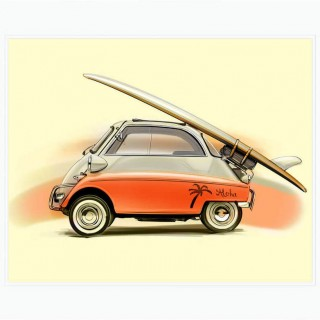 From Mini To 993 GT2, Six New Prints From Frederic Dams Have Arrived In The Shop