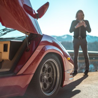 GALLERY: Go Behind The Scenes On Our 1988 Lamborghini Countach 25th Anniversary Film Shoot