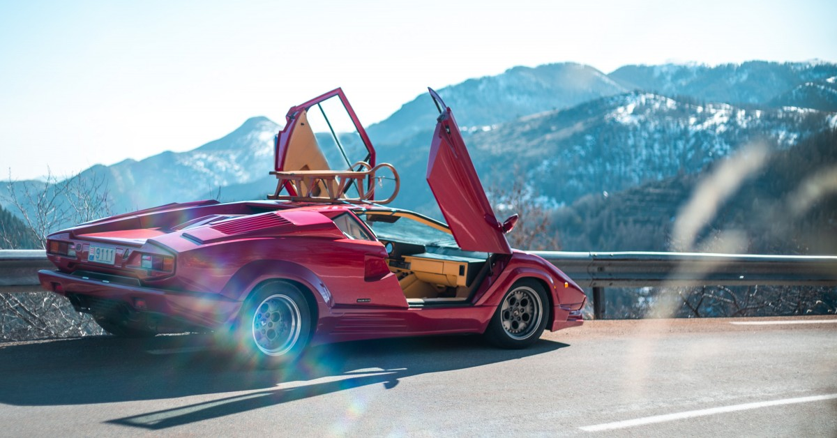 Gallery Go Behind The Scenes On Our 1988 Lamborghini Countach 25th