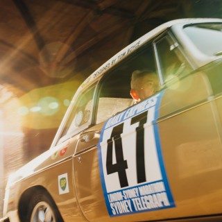 See The London-Sydney Marathon MGB, Rediscovered After 47 years, At The Petrolicious Drivers' Meeting!