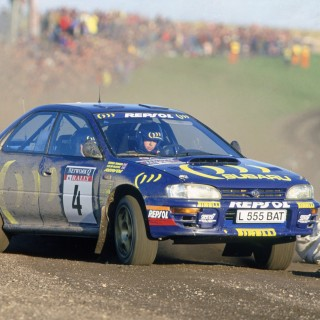 McRae's And Mäkinen's Subaru Imprezas Lead Star-Studded World Rally Line-Up At Petrolicious Drivers' Meeting