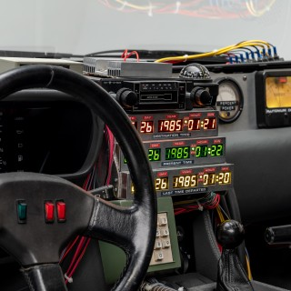 Batmobiles, DeLoreans And More In New Peterson Automotive Museum Hollywood Cars Of The Future Exhibit