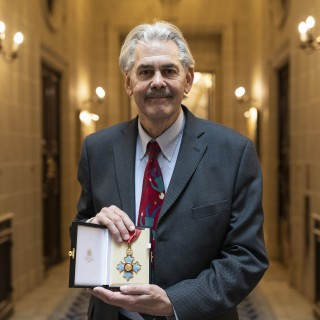 F1 And Road Car Design Legend Gordon Murray Receives CBE From Prince William
