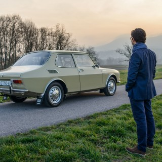 The Owner Of This 1970 SAAB 99 Says It All Started With A Pen