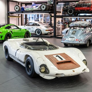 Rejecting Restoration–Porsche Museum Keeps 1967 European Hill Climb Champion Porsche 910/8 Bergspyder Just As It Is