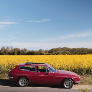 GALLERY: Go Behind The Scenes On Our Reliant Scimitar Film Shoot