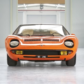 Lamborghini Polo Storico Certifies The Identity Of The Miura P400 Used In The Italian Job