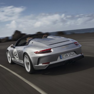 The Latest Limited-Edition Porsche 911 Speedster Is One For The Purists, But It Comes At A Cost