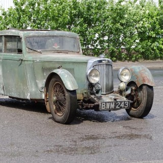 This 1936 Aston Martin Mark II Has Been In Storage For Half A Century And Is Now Looking For A New Owner
