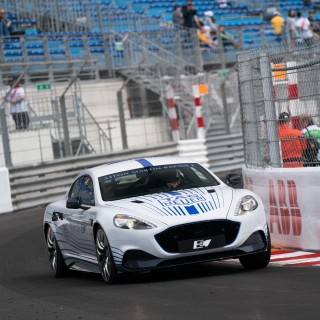 The Aston Martin Rapide E Wowed The Crowds During Its First Public Demonstration At Monaco