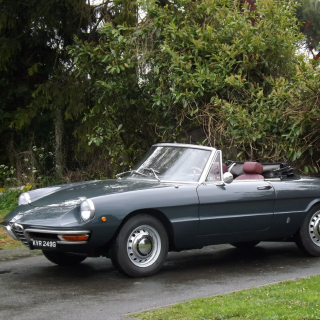 Alfa Romeo Duetto Spider Previously Owned By John Squire Of The Stone Roses Is Coming Up For Sale
