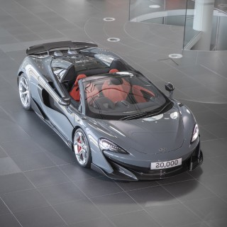McLaren Automotive Achieves Major Milestone By Building Its 20,000th Hand-Assembled Car