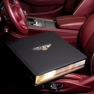 Bentley Unveils A Limited-Edition Book—Weighing In At 66lbs!—Telling The Marque's 100-Year Story