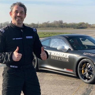 Zef Eisenberg Returns To Pendine Sands In Porsche 911 Turbo To Break Idris Elba's Land Speed Record