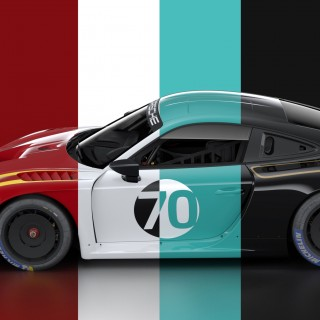 Iconic Retro Racing Liveries Range Launched For The New Porsche 935