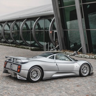 The Pagani Zonda C12 Is Already A Classic, And Chassis #001 Has Already Been Restored