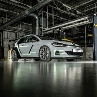 The 374hp Volkswagen Golf GTI Aurora Showcases The Holographic Future Of In-Car Entertainment