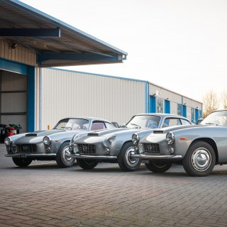 Three Restored Lancia Flaminia Sport Zagatos To Celebrate The Famous Coachbuilder's Centenary Year
